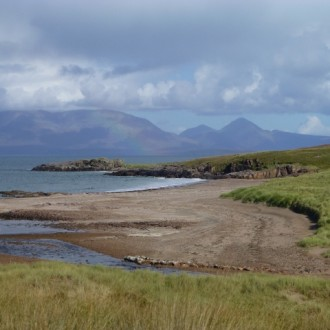 Kilmory bay, Isle of Rum