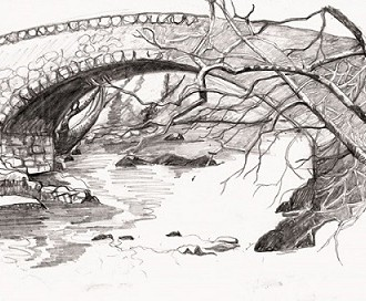 Loy bridge sketch