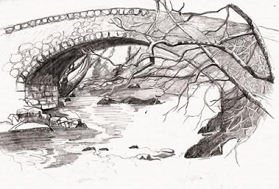 Loy bridge sketch