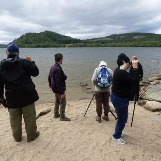 Scanning Loch Ruthven
