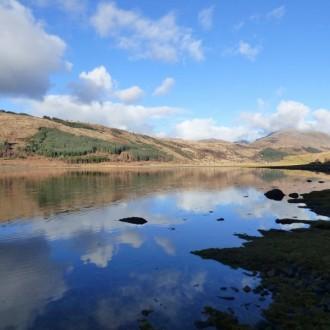 Sunny Loch Sunart, early March